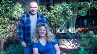 Farmyard Micro Farm Owners Rebecca and Troy